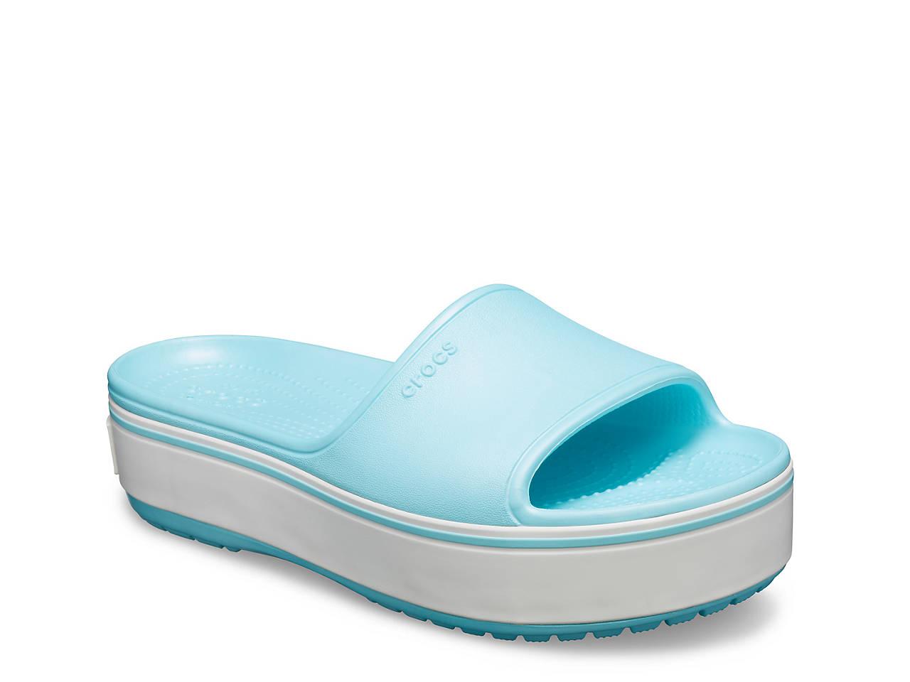 9122ef6af38 Crocs Crocband Platform Sandal Women s Shoes