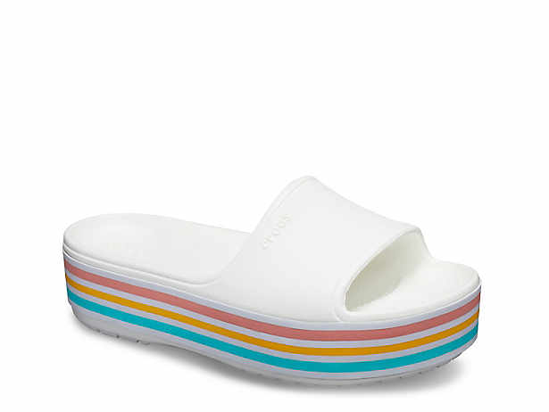 40d93ccdc8e4ce Crocs. Bold Color Platform Sandal
