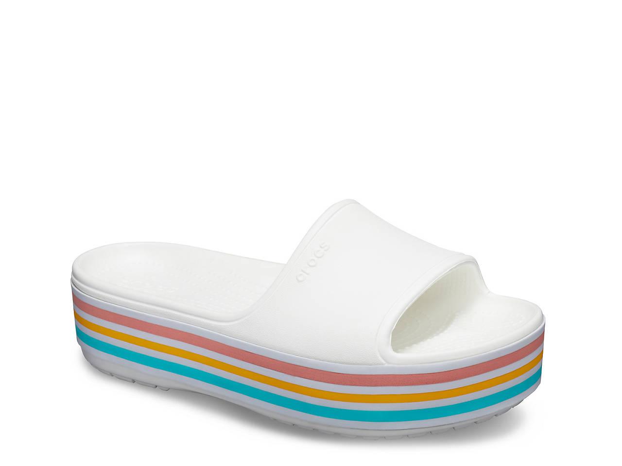 b2f07c7953 Bold Color Platform Slide Sandal