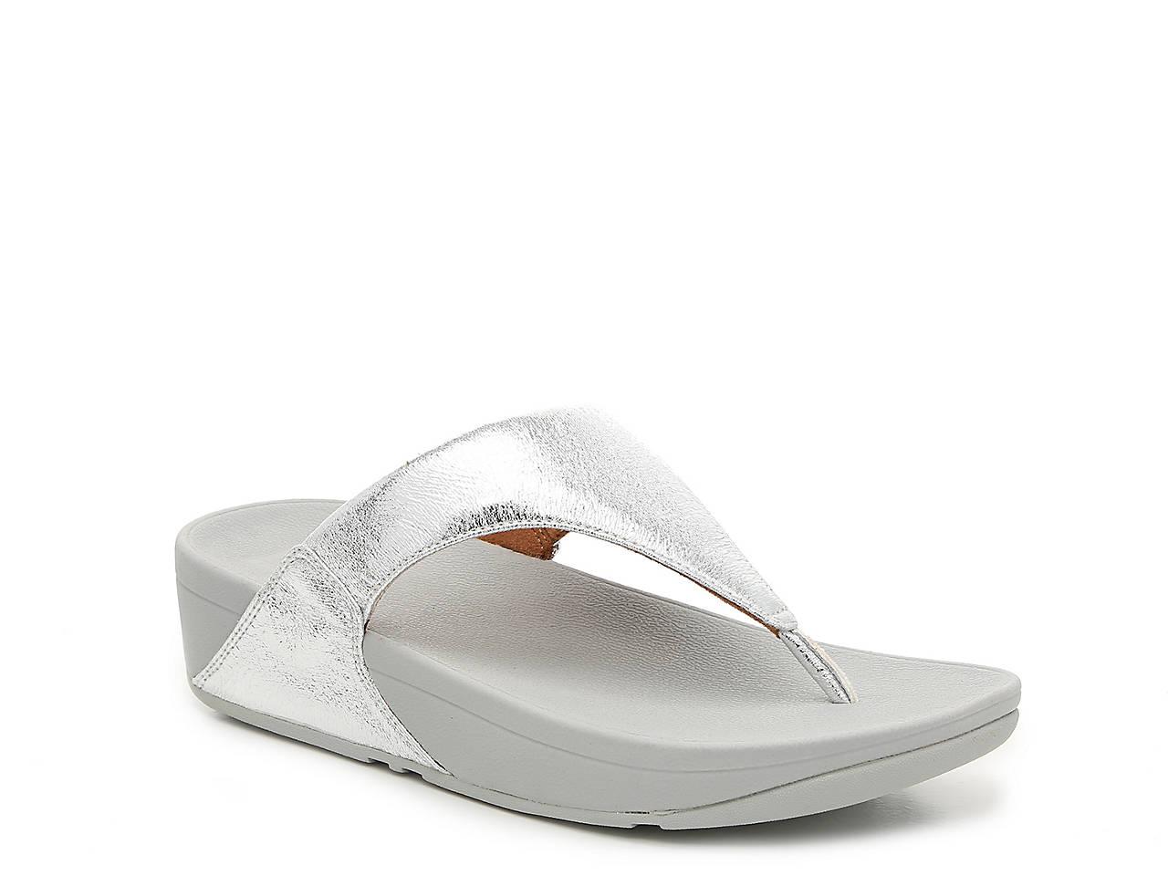 7cb8acce282b FitFlop Lulu Glitzy Wedge Sandal Women s Shoes