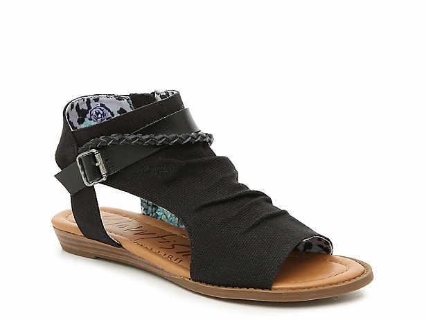 d7b98fb3450 Black Blowfish Sandals