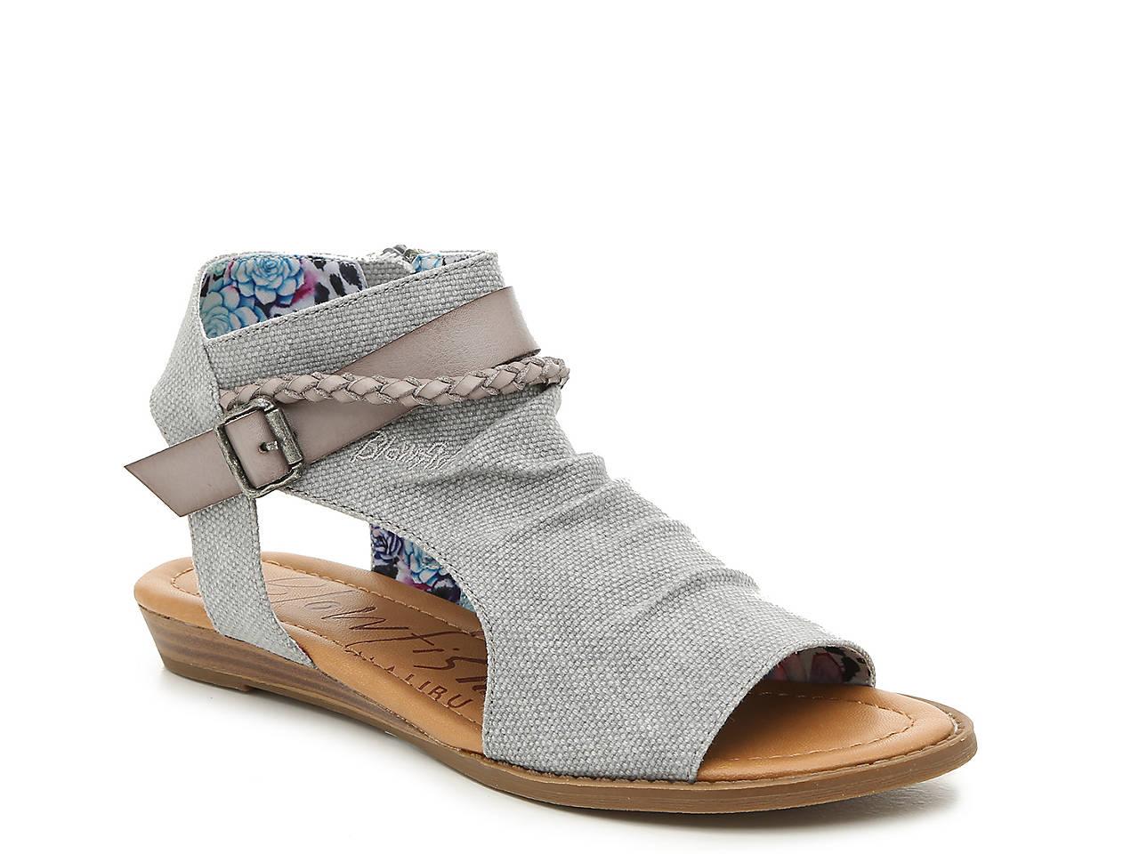b4002c11ed8e Blowfish Bombtastic Wedge Sandal Women s Shoes