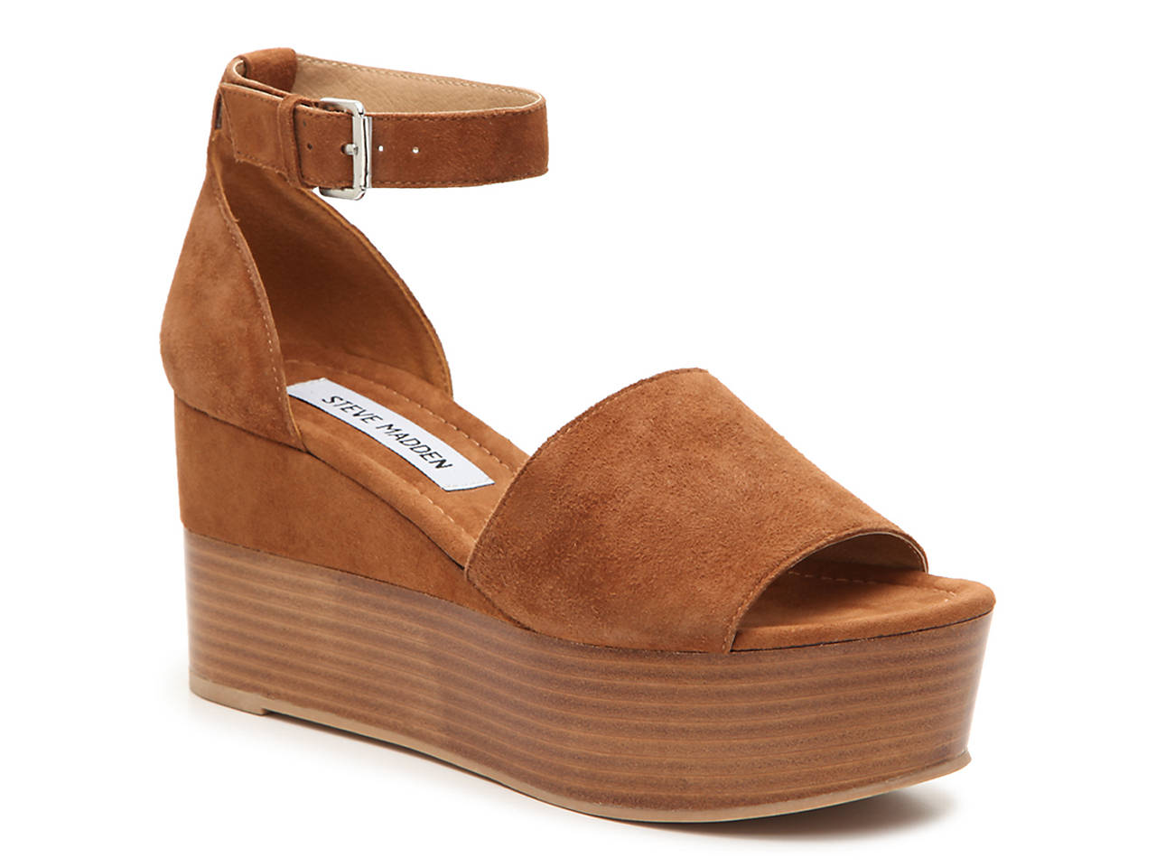 01e484bdb11 Steve Madden Zala Wedge Sandal Women s Shoes