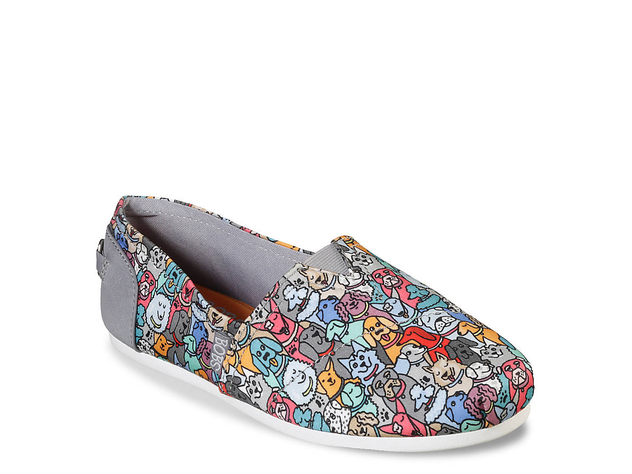 a8cbc8daabb9 BOBS from Skechers Plush Woof Party Slip-On Women s Shoes