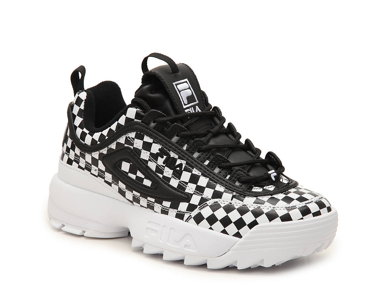 Fila Disruptor II Checker Sneaker - Women s Women s Shoes  5ab6296f9a
