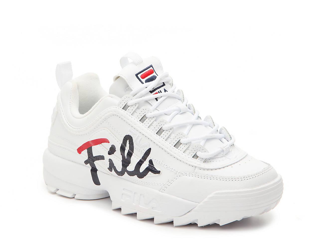27af2d3ee189e Fila Disruptor II Script Sneaker - Women s Women s Shoes