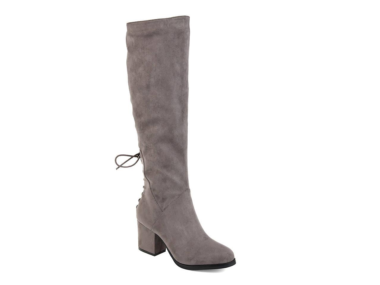 f3f936c1b59b2 Journee Collection Leeda Wide Calf Boot Women's Shoes | DSW