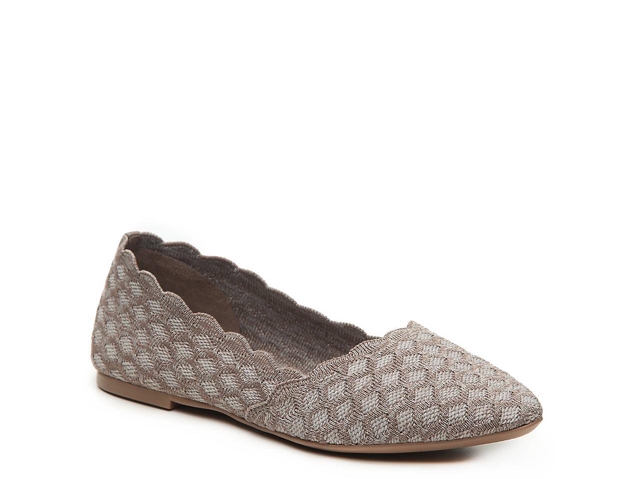 5a3fe5f3 Skechers Cleo Scallop Ballet Flat Women's Shoes | DSW