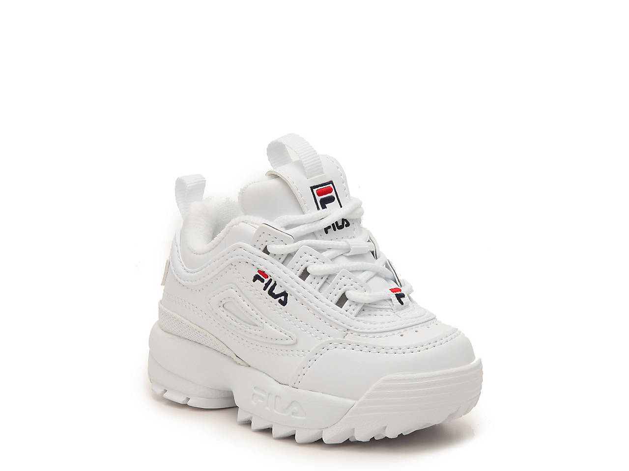 ea6a69b35322b Fila Disruptor II Infant   Toddler Sneaker Kids Shoes