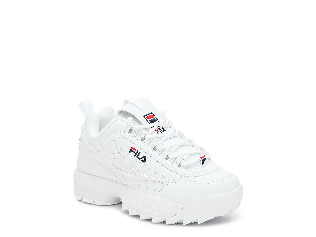 c06f9ee2d9e5 Fila Disruptor II Toddler   Youth Sneaker Kids Shoes
