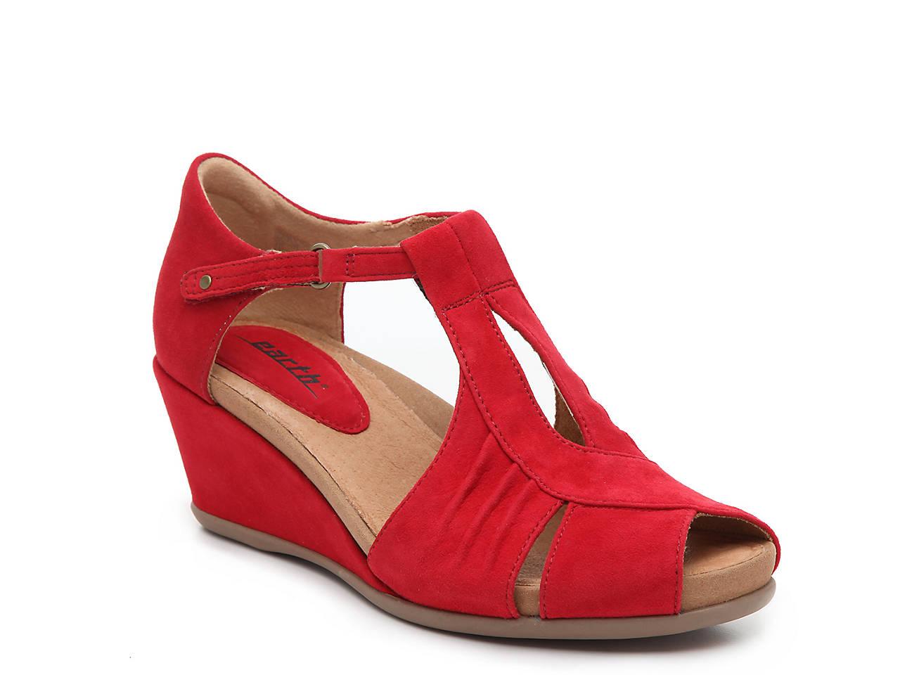 bccc08ff7d7f Earth Primrose Wedge Sandal Women s Shoes