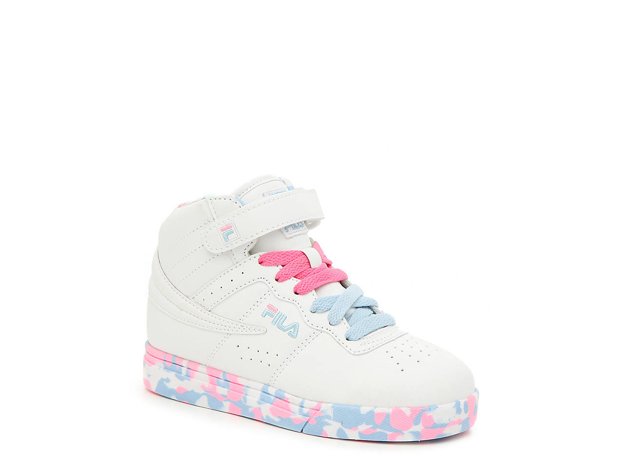 21c7d6ef42bf Fila Vulc 3 Mashup Toddler   Youth High-Top Sneaker Kids Shoes