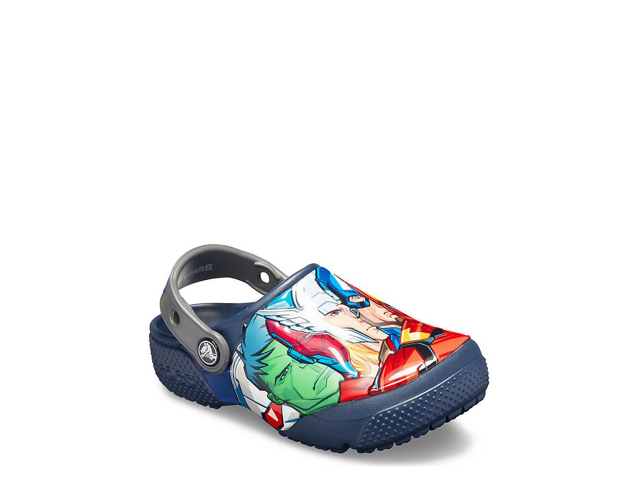 d6c31502e24eb Crocs Funlab Marvel Toddler & Youth Clog Kids Shoes | DSW