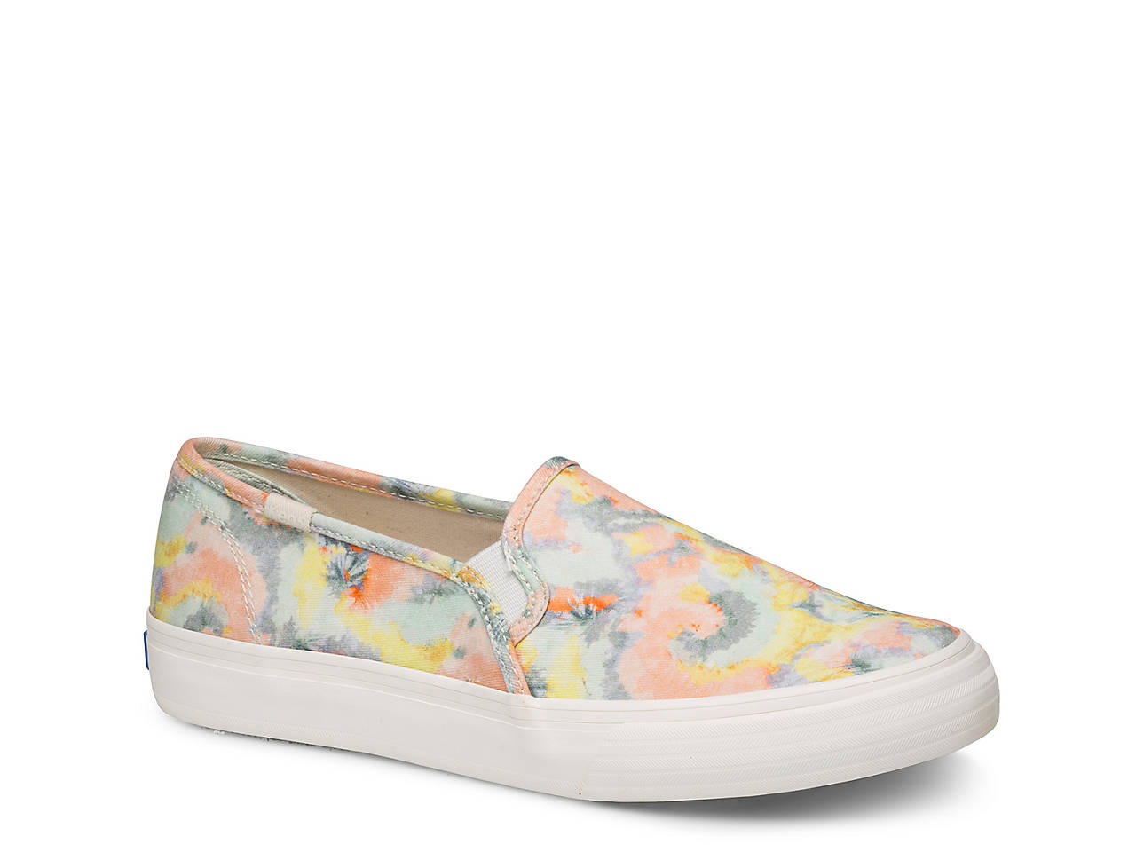 Double Decker Tie Dye Slip-On Sneaker - Women's