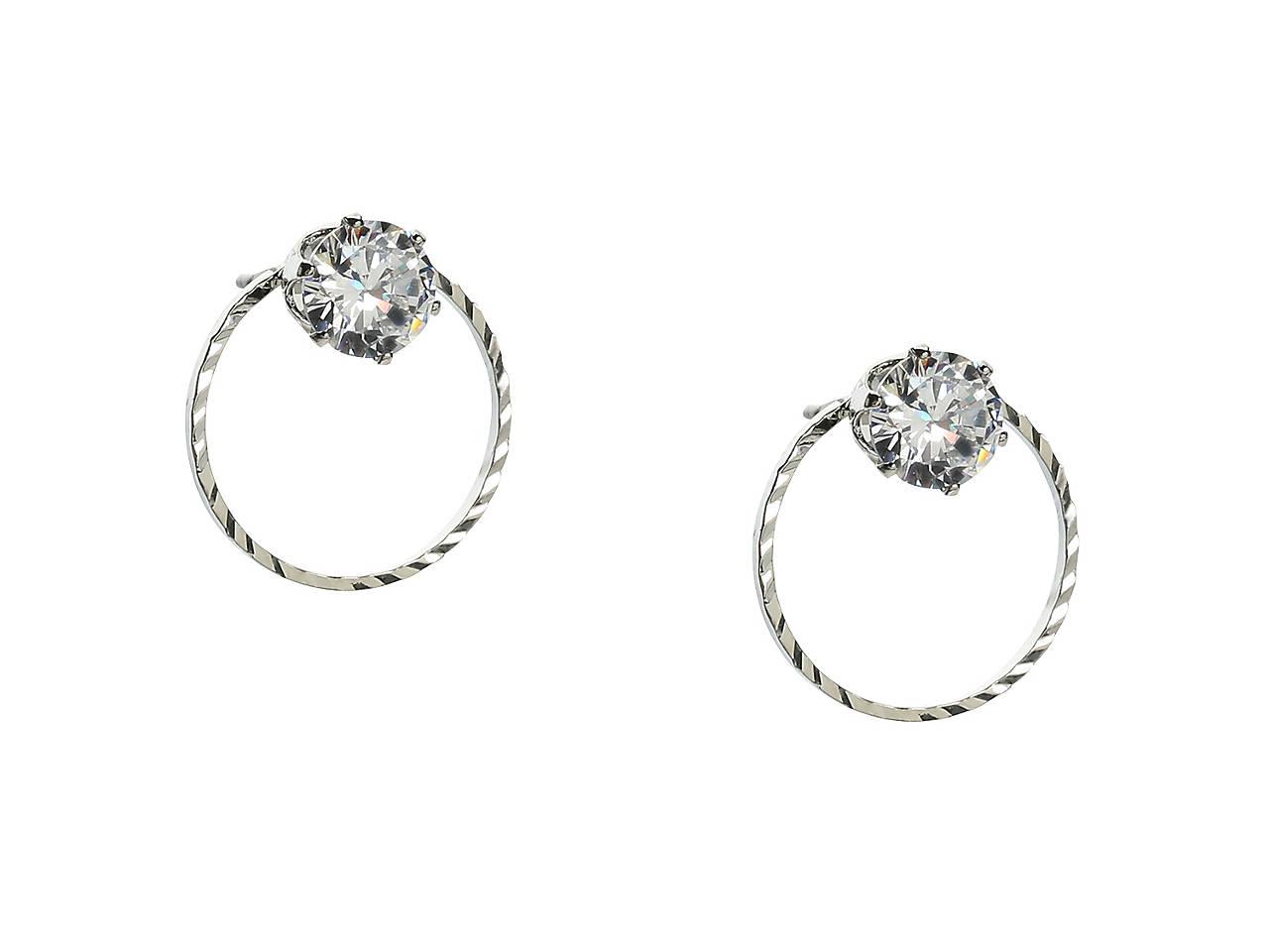 c716845ca Kelly & Katie Circle Cubic Zirconia Stud Earrings Women's Handbags ...