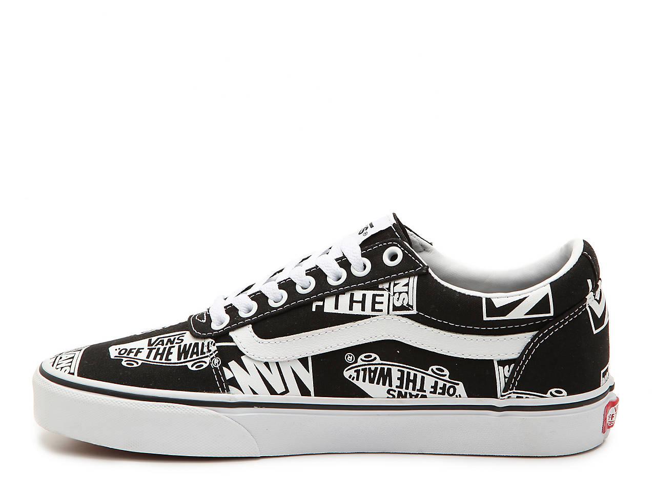 1c9ddcd5388bf Vans Ward Lo Print Sneaker - Men s Men s Shoes