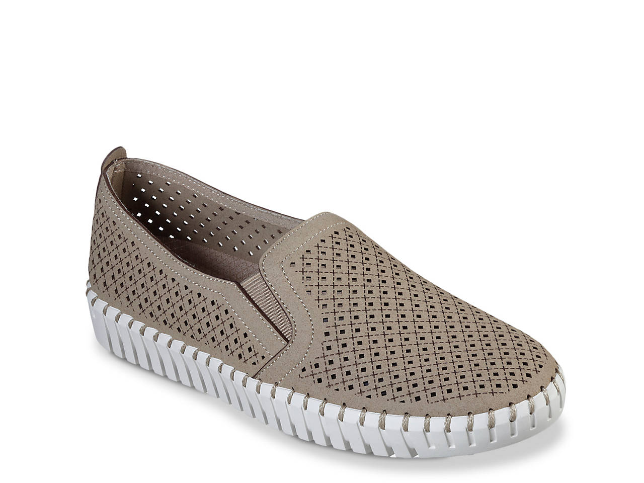 skechers slip on womens shoes