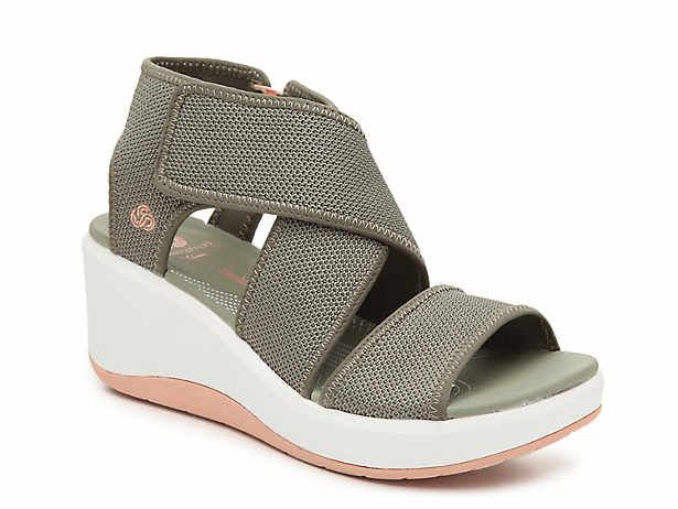 edffa67b22ee Cloudsteppers by Clarks. Step Cali Palm Wedge Sandal.  59.99. Comp. value   85.00