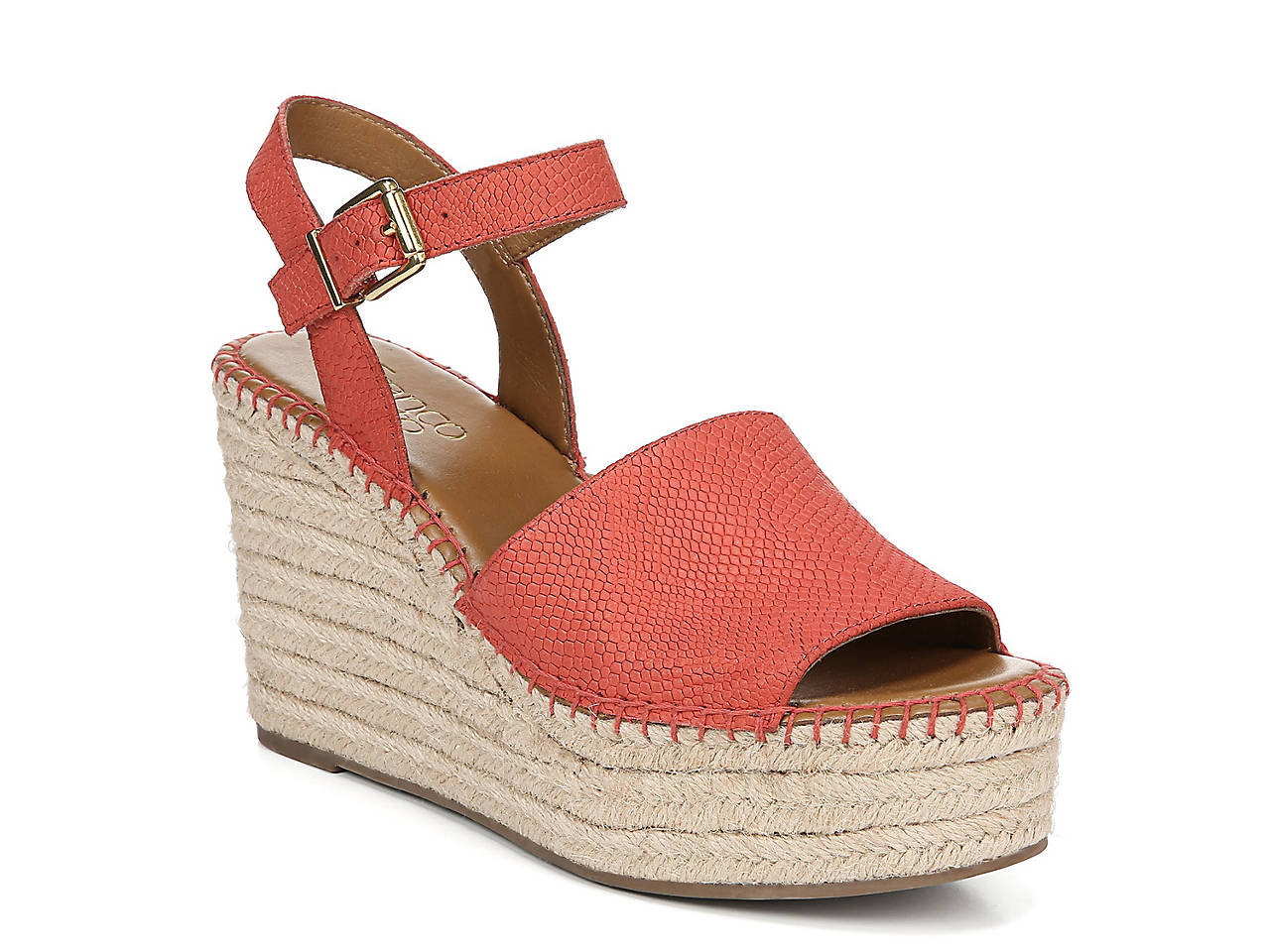 aa2e200a5 Franco Sarto Takara Espadrille Wedge Sandal Women s Shoes