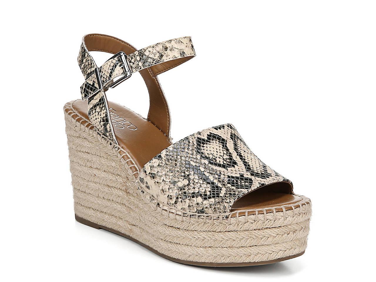 5add4489ac3 Franco Sarto Takara Espadrille Wedge Sandal Women s Shoes