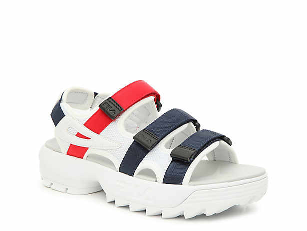517951e9b Fila. Disruptor Platform Sandal