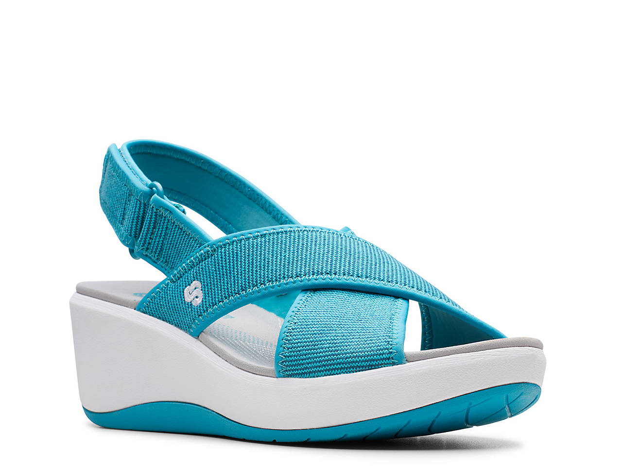 140595b08195 Cloudsteppers by Clarks Step Cali Cove Wedge Sandal Women s Shoes