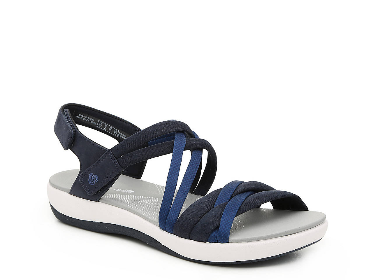 9fcd4a1028c3 Cloudsteppers by Clarks Brizo Waves Sandal Women s Shoes