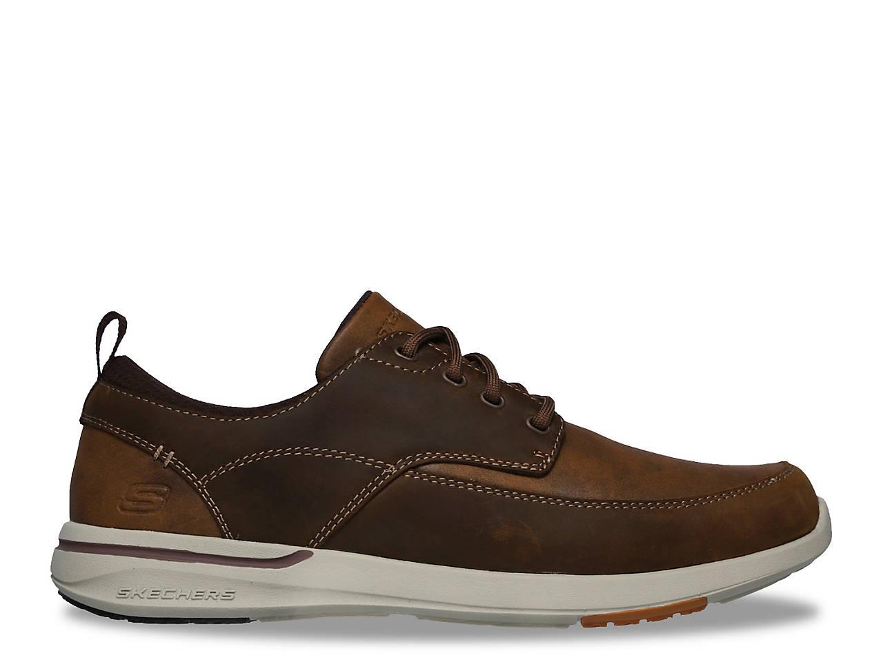 Skechers Relaxed Fit Elent Leven Oxford Men's Shoes DSW  DSW