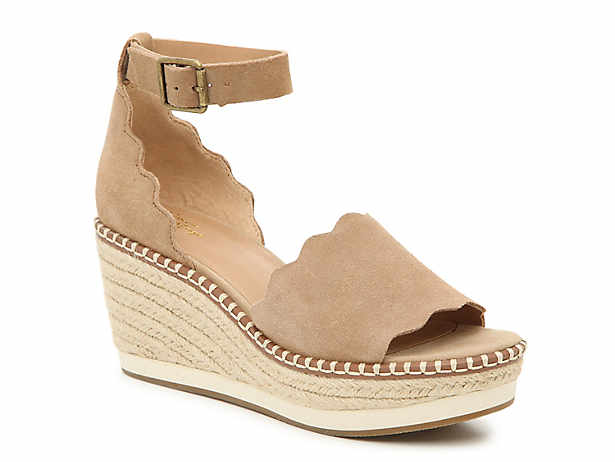 de08f6cd4 Crown Vintage. Daffodil Espadrille Wedge Sandal