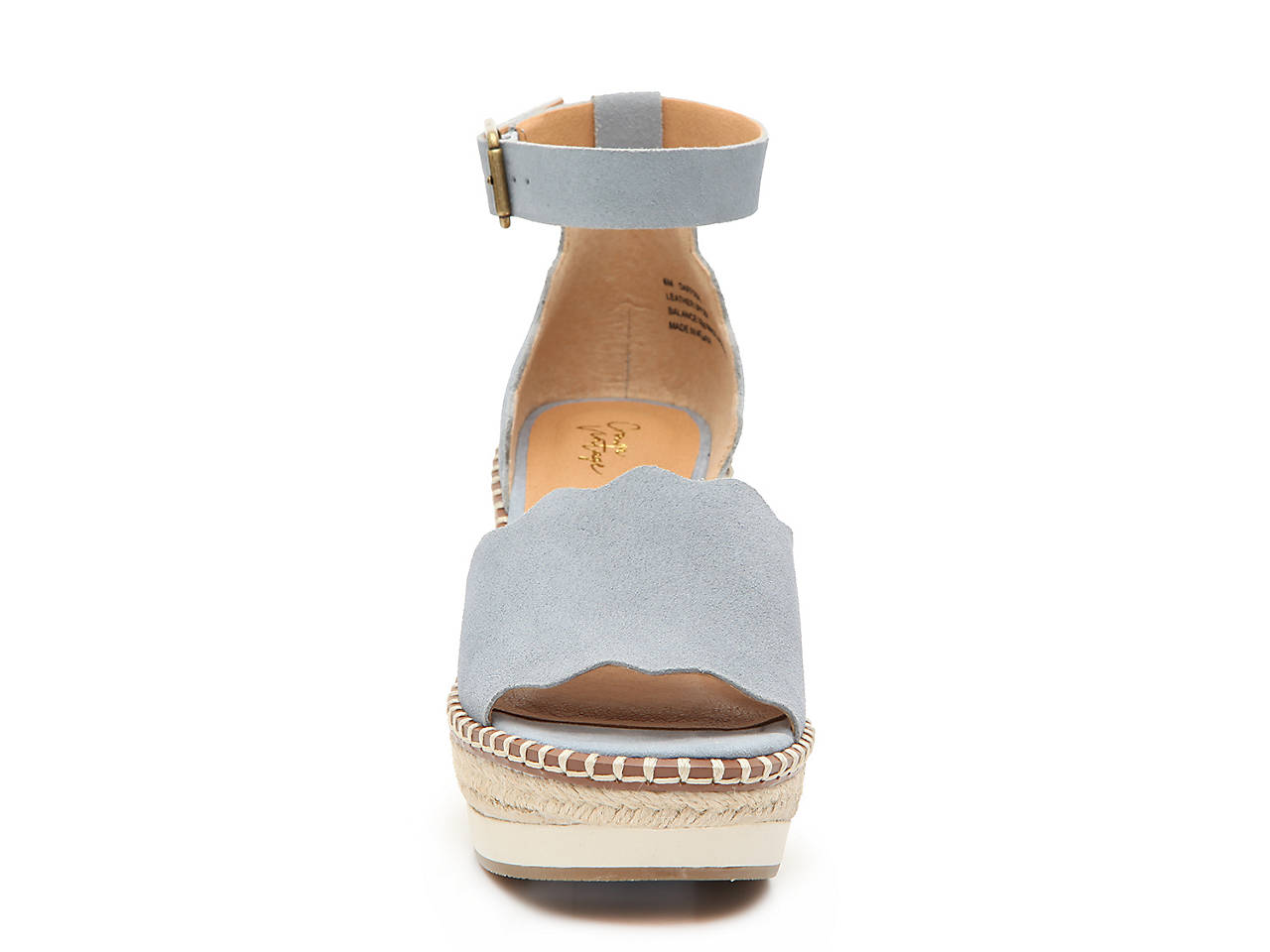 f3a7cef5eb Crown Vintage Daffodil Espadrille Wedge Sandal Women's Shoes | DSW
