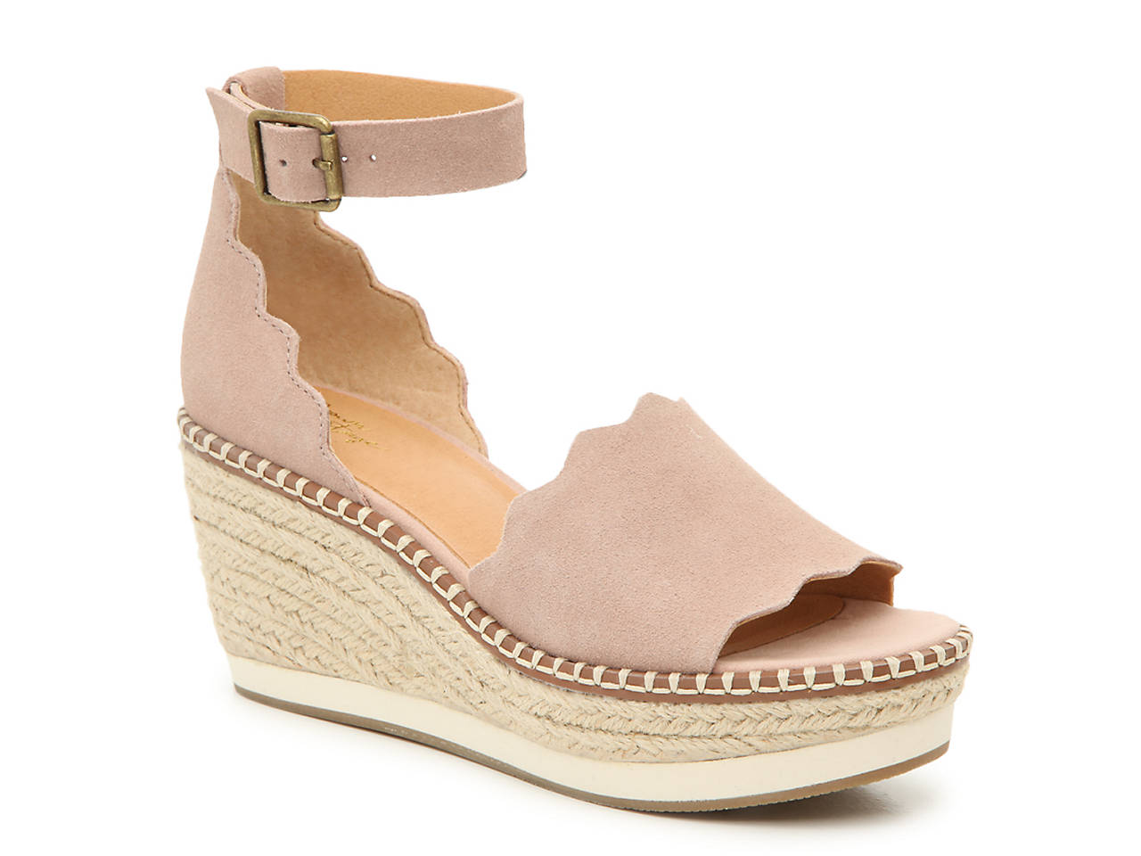 168c1c56e4 Crown Vintage Daffodil Espadrille Wedge Sandal Women's Shoes | DSW
