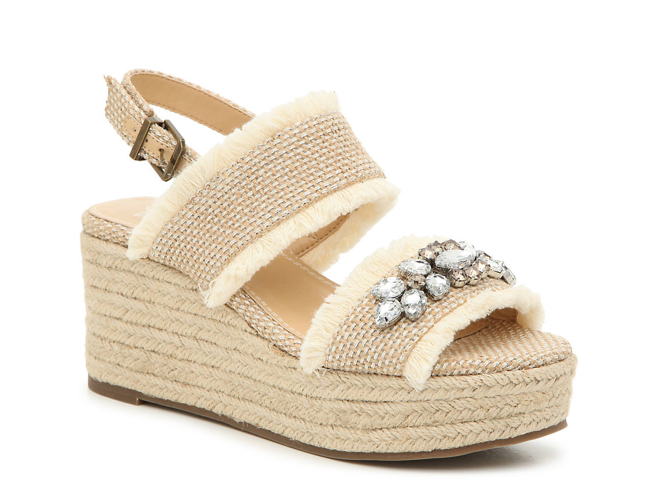 6d33b44289c5 Crown Vintage Qalecien Espadrille Wedge Sandal Women s Shoes