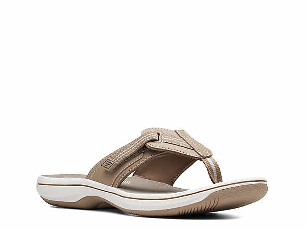2c68987ba4b24 Cloudsteppers by Clarks. Brinkley Drift Flip Flop