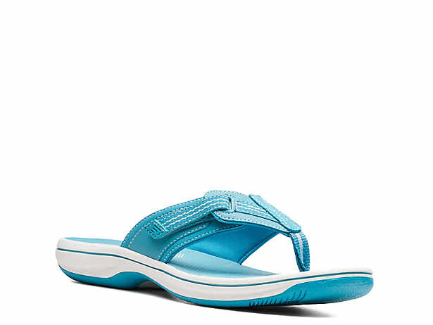 8b61e287cb3f Cloudsteppers by Clarks. Brinkley Drift Flip Flop