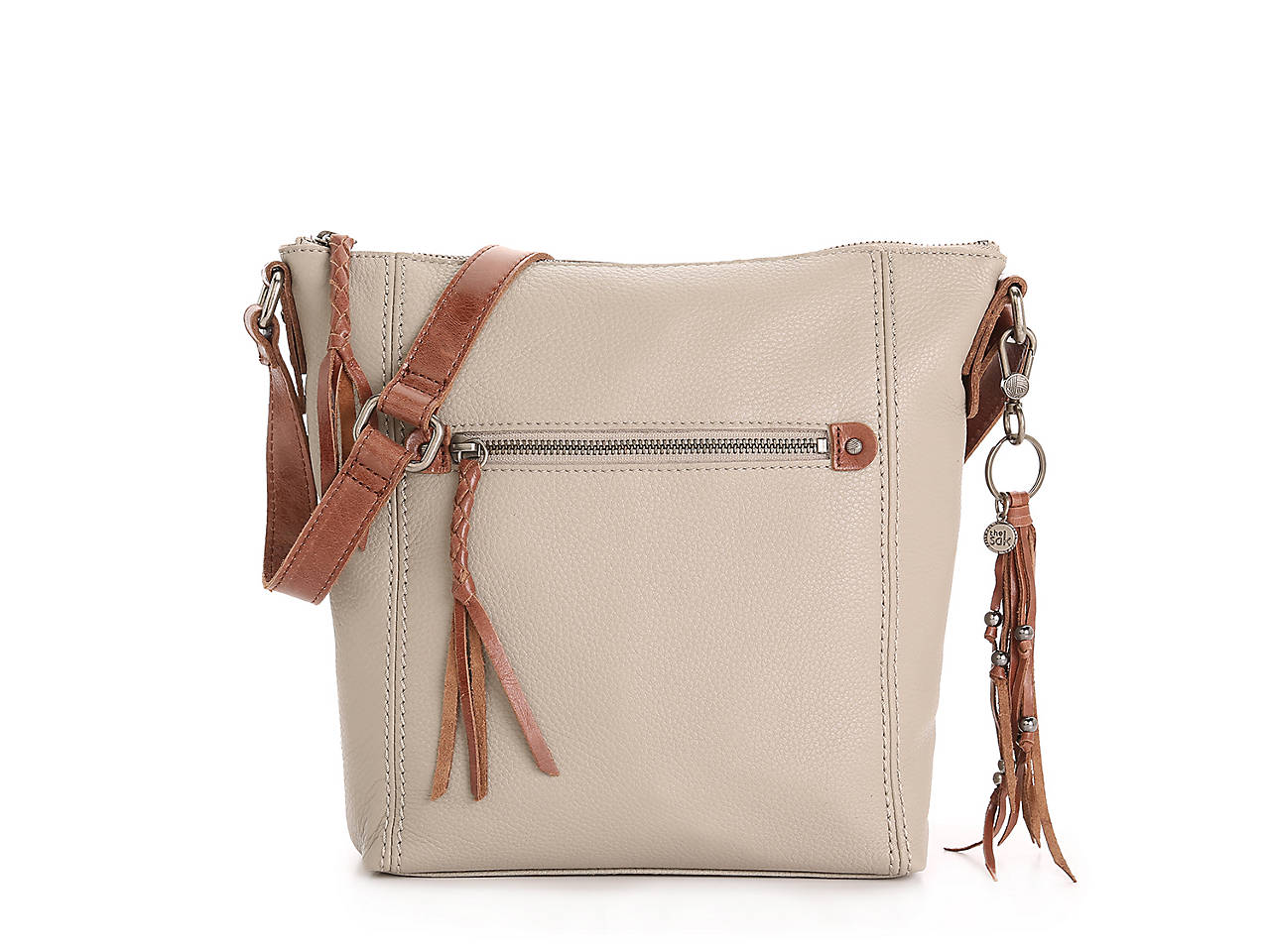 The Sak Ashland Leather Crossbody Bag Women s Handbags   Accessories ...