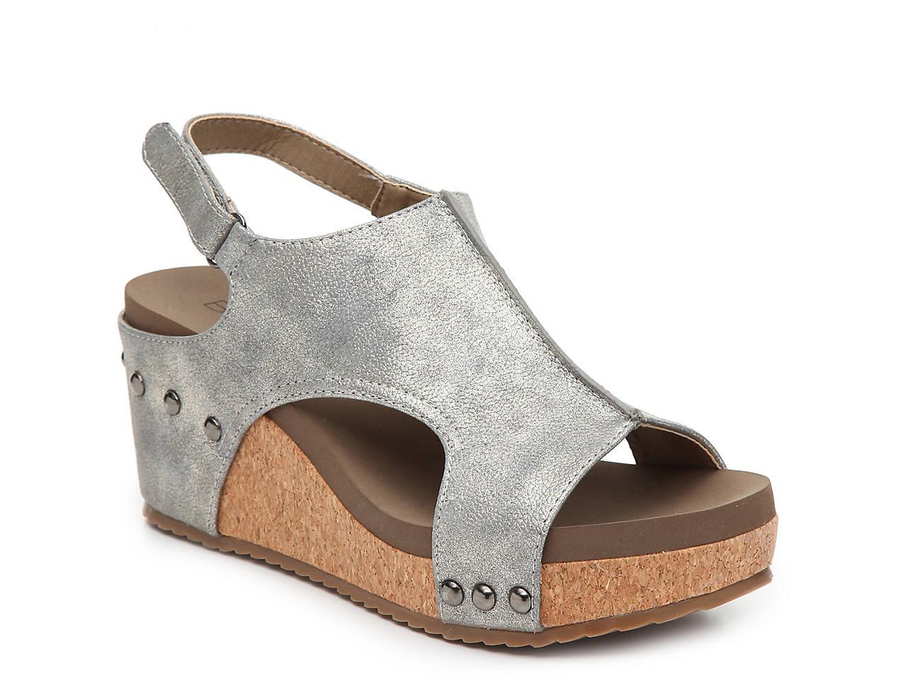 e1203b0764b9 Boutique by Corkys Ingrid Wedge Sandal Women s Shoes
