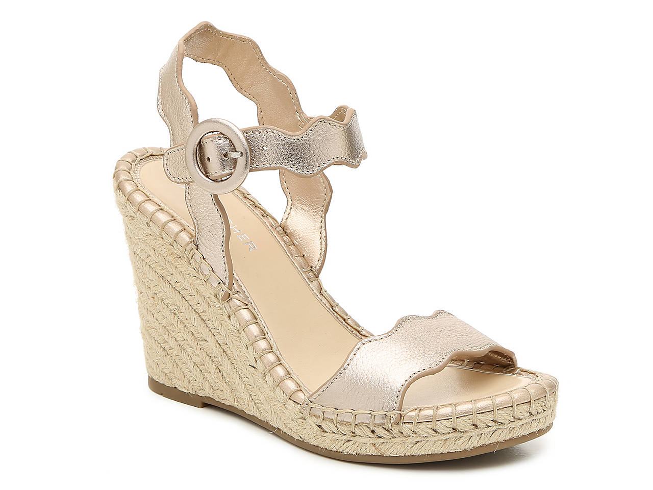 4d89473f8542 Marc Fisher Kai Espadrille Wedge Sandal Women s Shoes