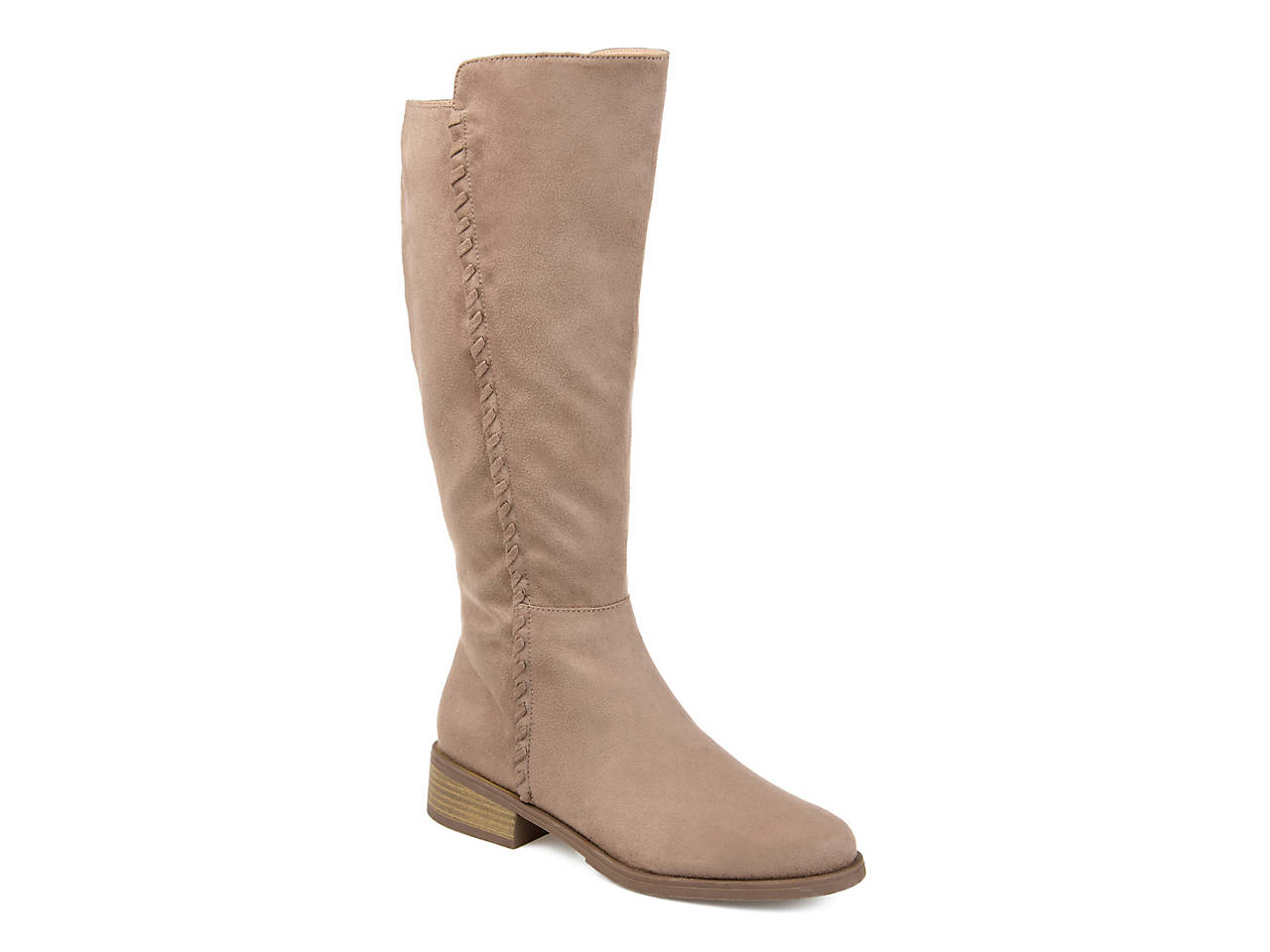 Journee Collection Comfort Womens Frenchy Regular Wide Calf Extra Wide Calf Boot