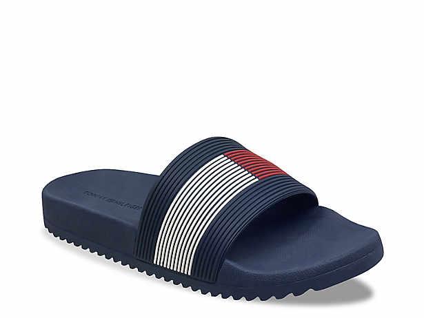 1fef473b Tommy Hilfiger Slide Flag Sandals Men's Shoes | DSW