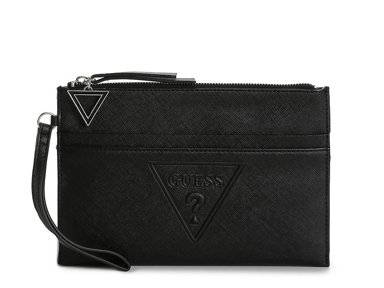 d8ff10543e0 Guess Baldwin Park Wristlet Women s Handbags   Accessories