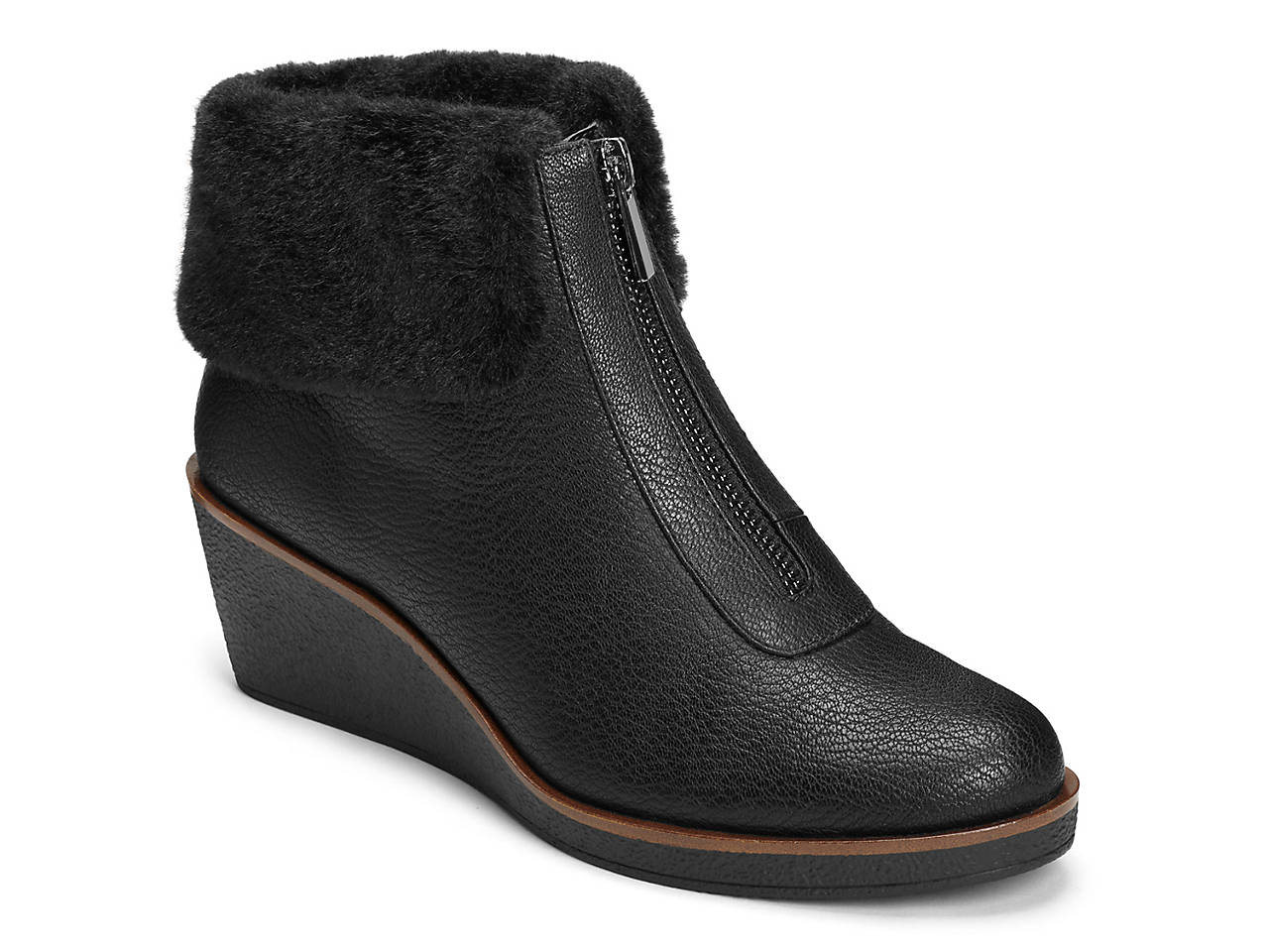 f6fcb69e523 A2 by Aerosoles Integrity Wedge Bootie Women s Shoes