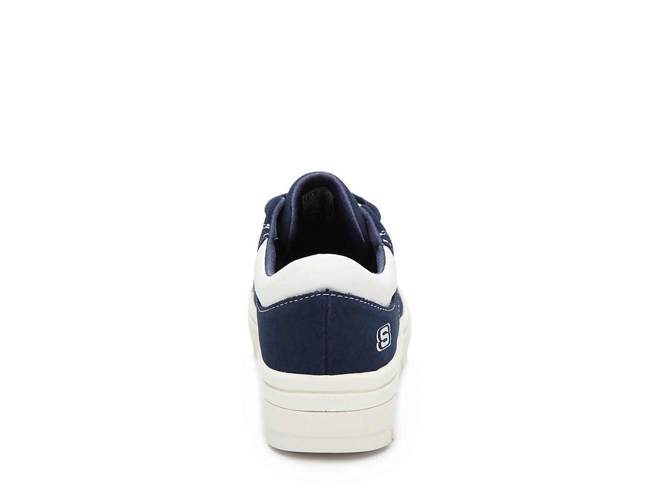 165aad0d456 Skechers Street Cleat Back Again Platform Sneaker Women s Shoes
