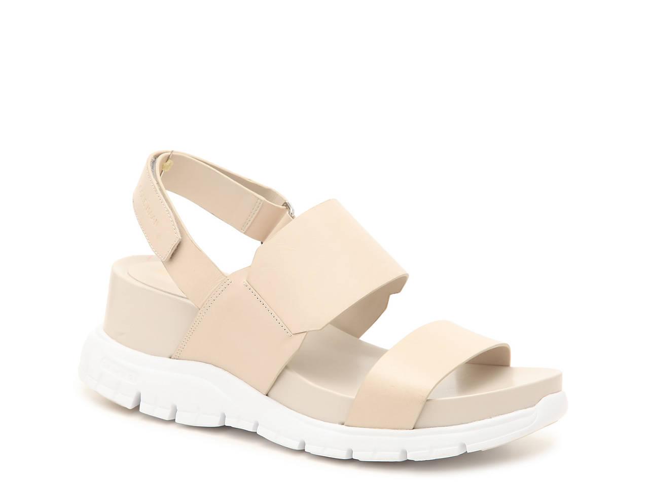 8cb2b4a3aa2a Cole Haan Zerogrand Wedge Sandal Women s Shoes