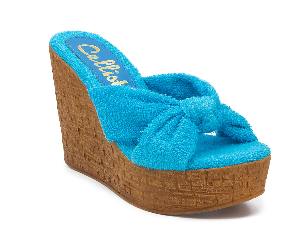 b89a8ed42f2 Callisto of California Shore Wedge Sandal Women s Shoes