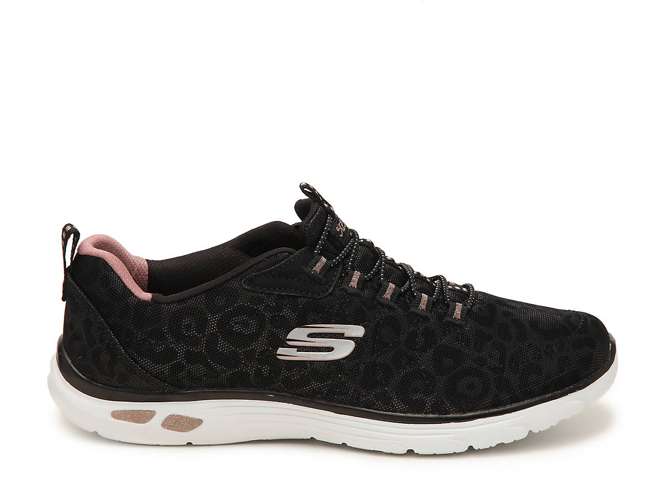 Skechers Relaxed Fit Empire D'Lux Spotted Slip On Sneaker