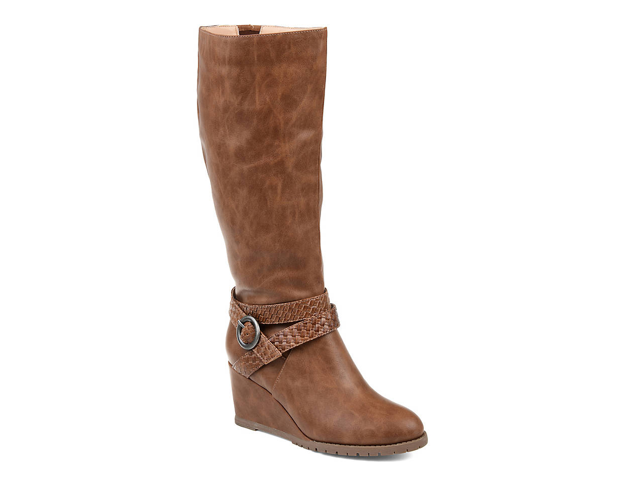 5f43e4c3486c Journee Collection Garin Wedge Boot Women s Shoes