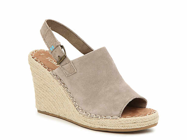 6893126fae57 TOMS. Monica Espadrille Wedge Sandal