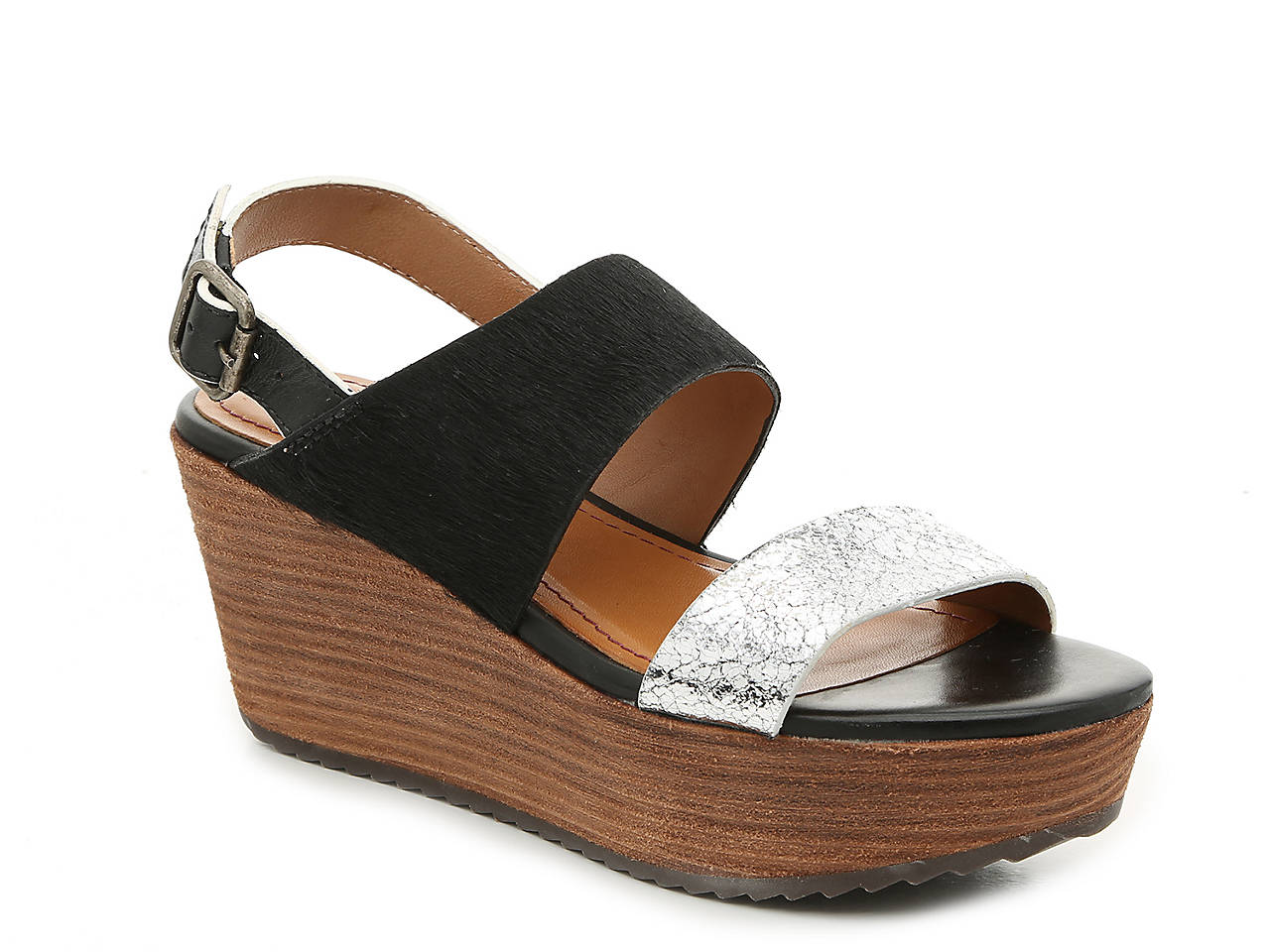 e634a75a54f Trask Robyn Wedge Sandal Women s Shoes
