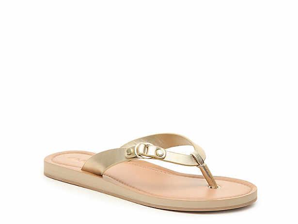 f87fbf863 Women s Gold Flip Flop Sandals