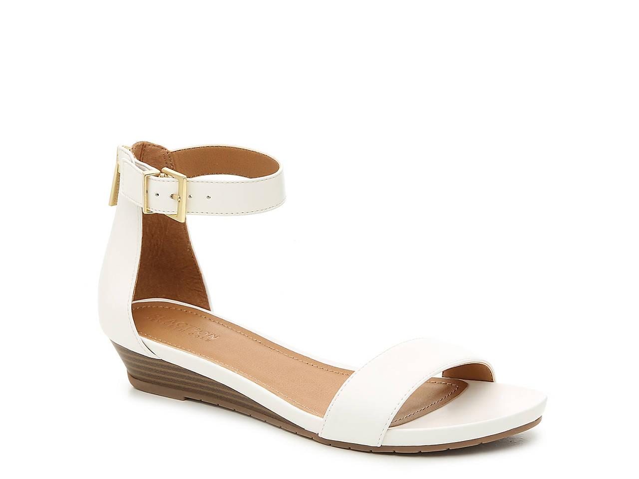 ea3f3117b Kenneth Cole Reaction Great Race Wedge Sandal Women s Shoes